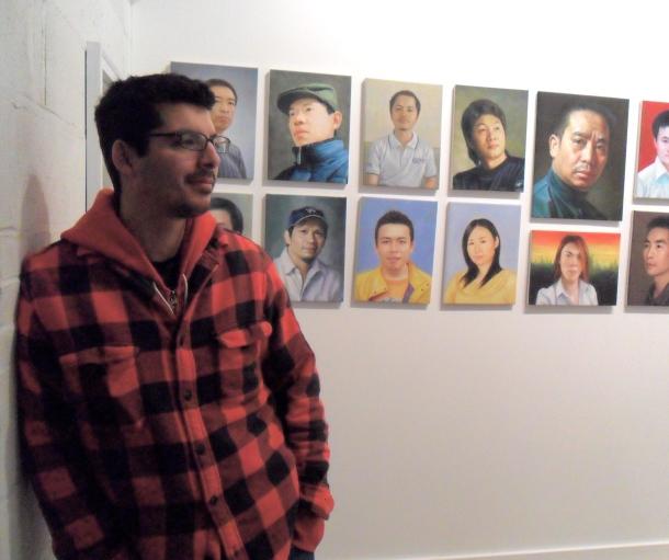"""John C. Gonzalez and """"Self-Portrait Project"""", 2009-2011."""