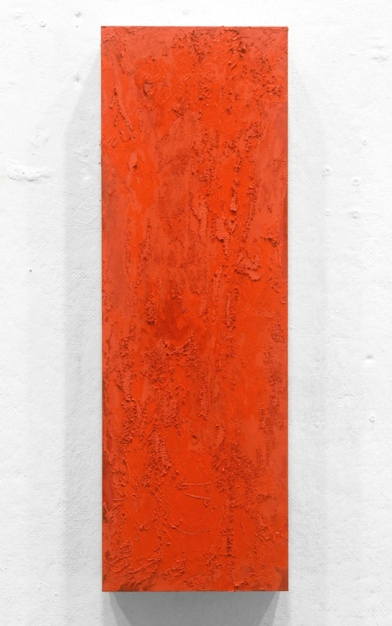 """Penn Young, Truth, oil on panel, 18"""" x 6"""", 2013."""