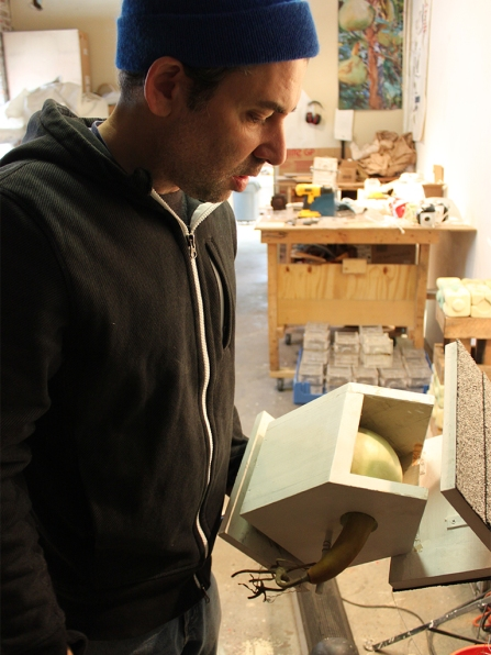 Andrew Mowbray studio