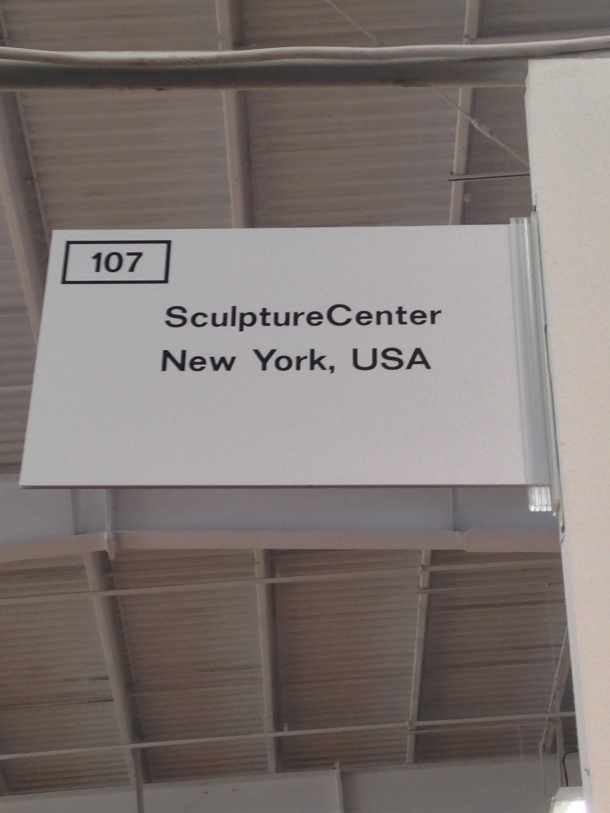 Sam Anderson, SculptureCenter, NADA NY