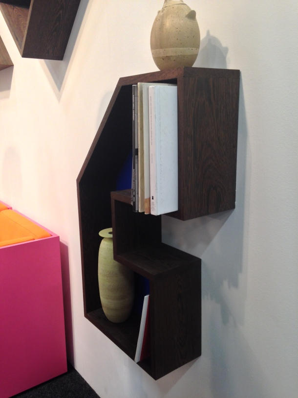 Matthew Higgs and Wayne Ngan, furniture by ROLU Studio, The Apartment, NADA NY