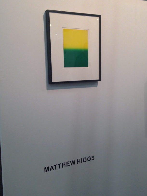 Matthew Higgs, The Apartment, NADA NY