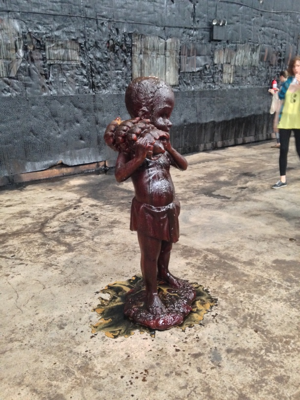 "Kara Walker, ""A Subtlety"", Domino Sugar Factory, Brooklyn, NY, 2014."