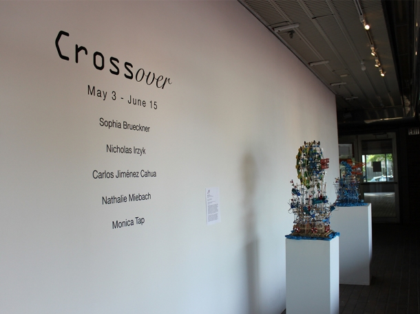 Crossover at Boston Cyberarts Gallery