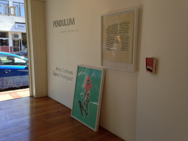 Pendulum, Andy Curlowe and Dante Rodriguez,  Mingo Gallery